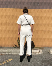 Rachel Comey Handy Jumpsuit / Dirty White-Washed Black Denim