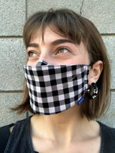 BAGGU Fabric Mask Set Loop / Gingham-Leopard-Stripes
