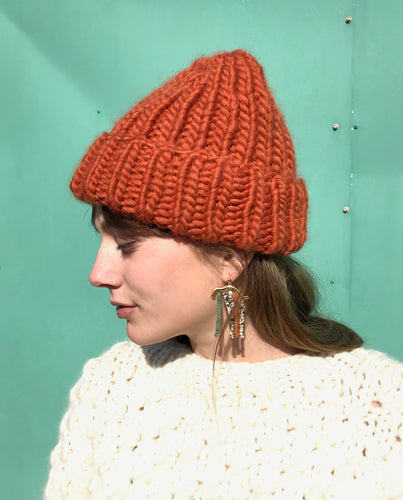 I Love Mr Mittens The Ribble Beanie Wool / Copper
