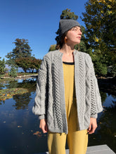 I Love Mr Mittens Kim Cardigan Wool / Grey