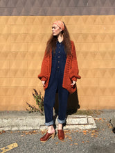 I Love Mr Mittens The Cardigan Wool / Copper