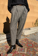 No.6 Hollis Pant / Charcoal Tweed