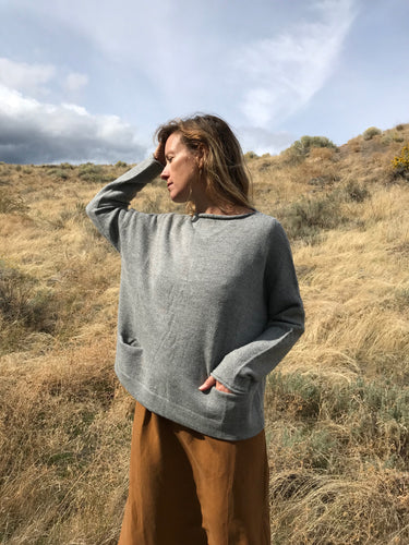 Lauren Manoogian Pocket Boatneck Pullover / Felt