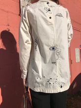 Mr Larkin Rainey Shirt Embroidery / Beige