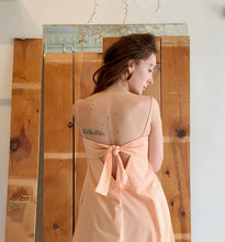 Toit Volant Verona Dress / Peach