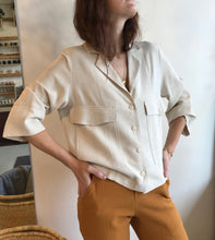 Eve Gravel Panorama Top / Cream