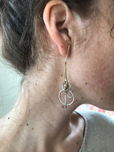 Quarry Sila Earring / Brass and Solid Silver