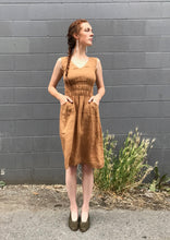 Modaspia Fiji Dress / Curry Linen