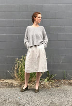 Modaspia Fiji Dress / French Linen Stripe