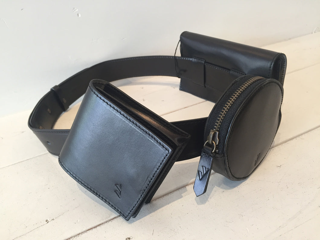 VereVerto DECO Black Hip Packs