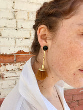 Ora C Marcel Earrings / Camel