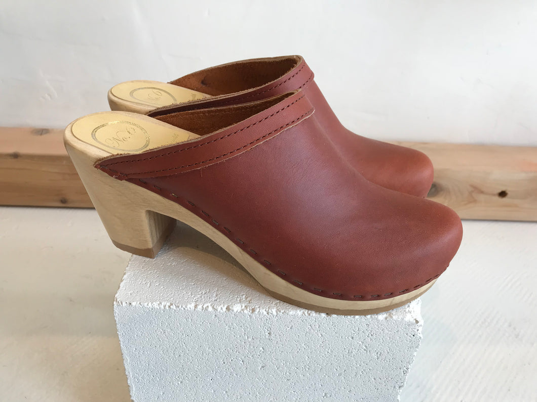 No.6 Old School High Heel / Bourbon