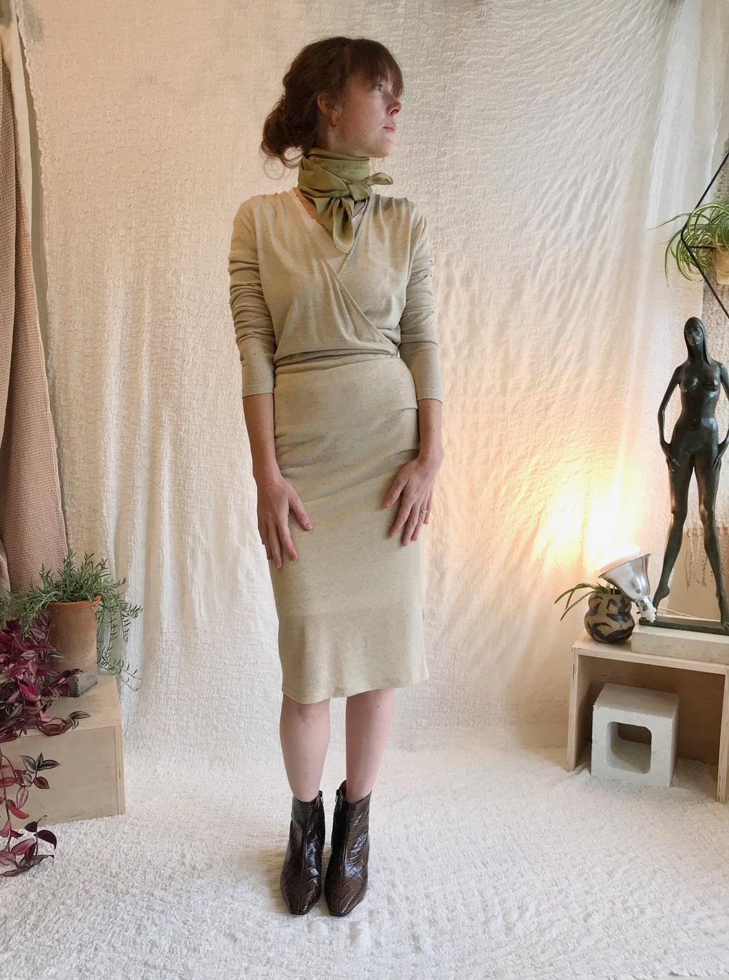 Eve gravel Mad Desire / Cream Jersey