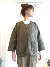Micaela Greg Diamond Quilted Jacket / Java