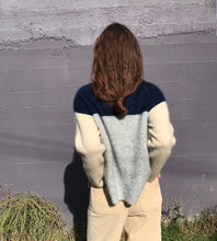 Sutton Sweater / Navy, Grey & Sand