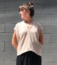 Miranda Bennett Everyday Top / Isla Bubble Gauze