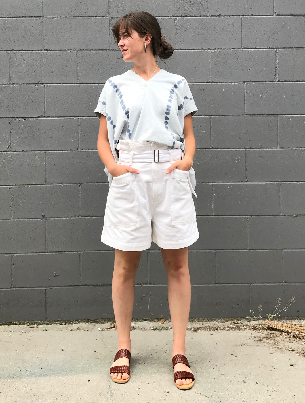 AGOLDE Celia Short / Paste