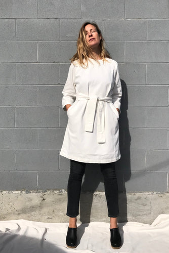 Kowtow Technique Dress / Ecru Denim
