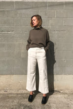 Rachel Comay Harlan Pant in Dirty White Denim
