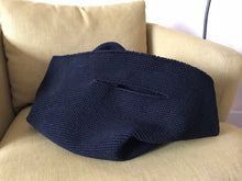 Lauren Manoogian Crochet bowl bag in Black.