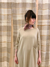 Lauren Manoogian Big Crewneck Dress / Antique