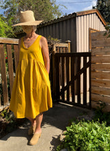Pillar Marseille Dress / Golden