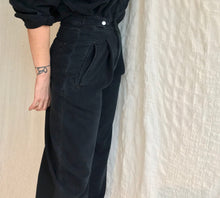 Agolde Ina High Collar Zip Jumpsuit / Black