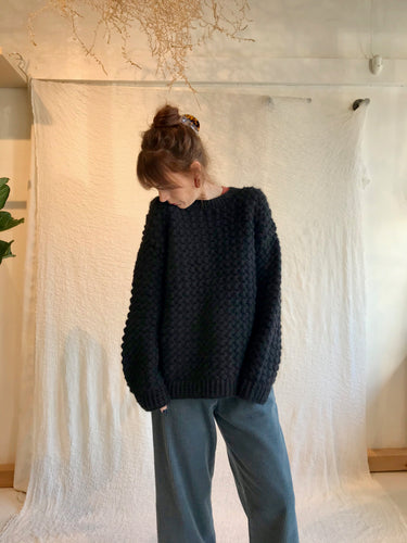 no.6 Bryce Sweater / Black