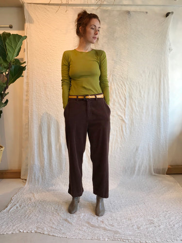 Lacausa Jasper Trousers / Chocolate
