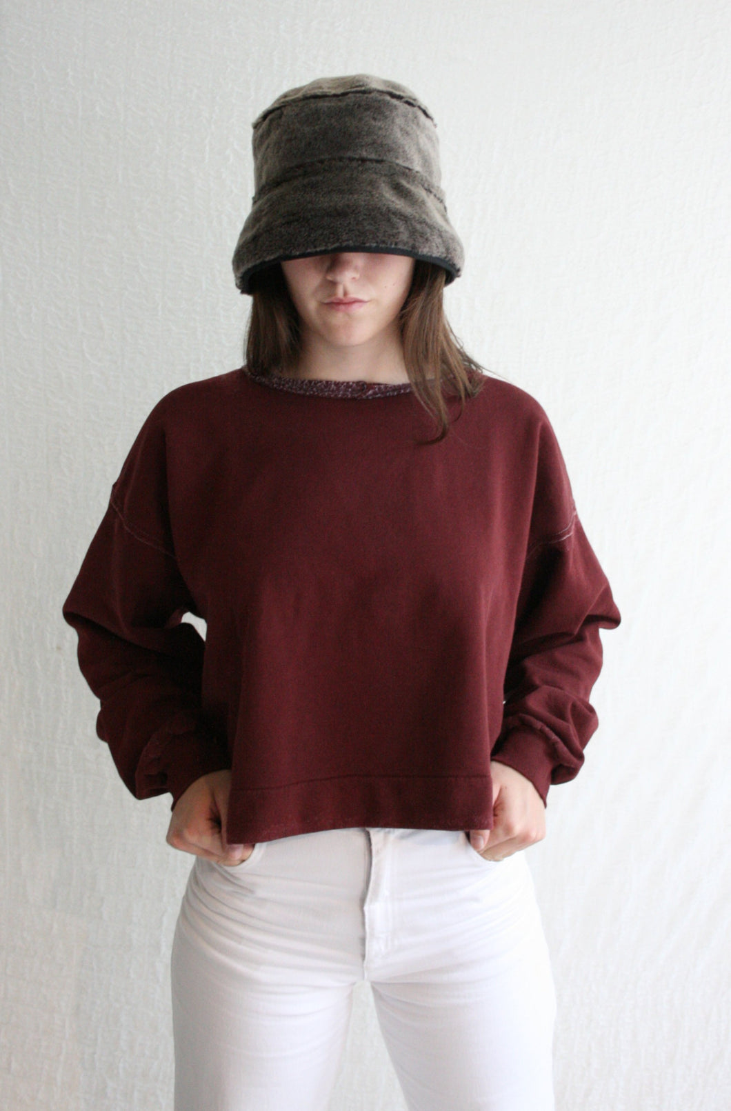 Rachel Comey Mingle Sweatshirt / Burnt Umber