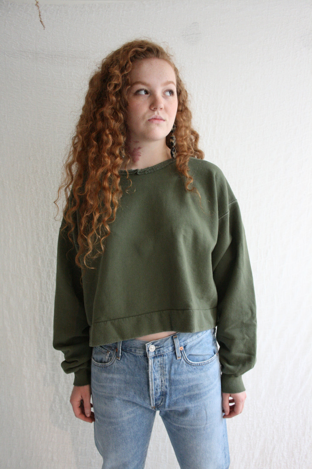 Rachel Comey Mingle Sweatshirt / Olive
