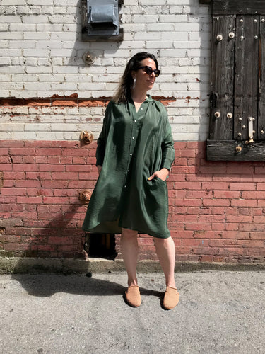 Caron Callahan Aurora Dress / Green