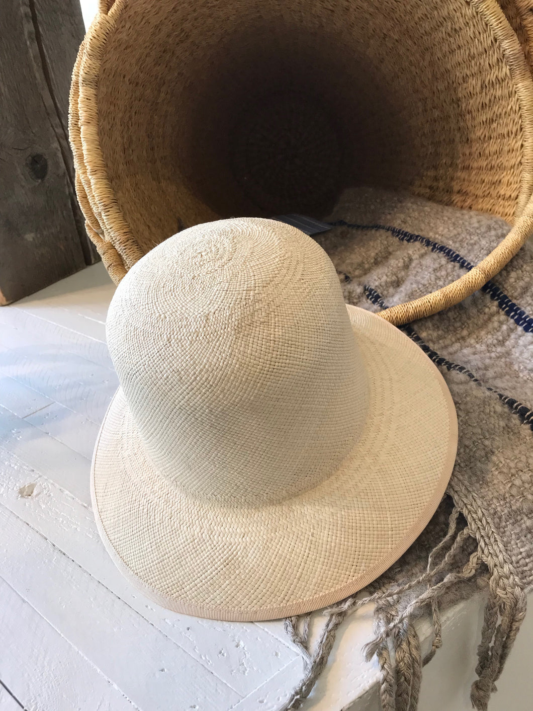 Brookes Boswell Bucket Hat / Natural