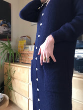 Micaela Greg Tower Cardigan / Navy