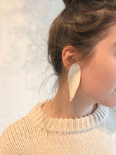 Fay Andrada Laine Earrings / Painted White