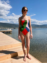 Mara Hoffman Fernanda one piece / Mobil Colourblock