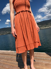 Loup Charmant Corolla Dress / Terracotta