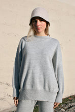 Lauren Manoogian Wide Crewneck / Light Grey