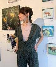 Allison Wonderland Getty Jumpsuit / Green