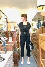 Allison Wonderland Getty Jumpsuit / Black