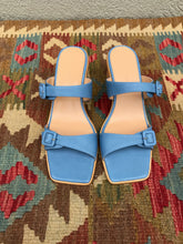 Paloma Wool Feria Sandal / Light Pink and Soft Blue