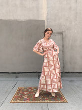 Osei Duro Tulip Wrap Dress / Pink Basket