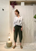 Stateside Ponte Side Panel Pant / Army