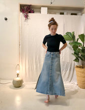 Nella Skirt / Denim Mirror