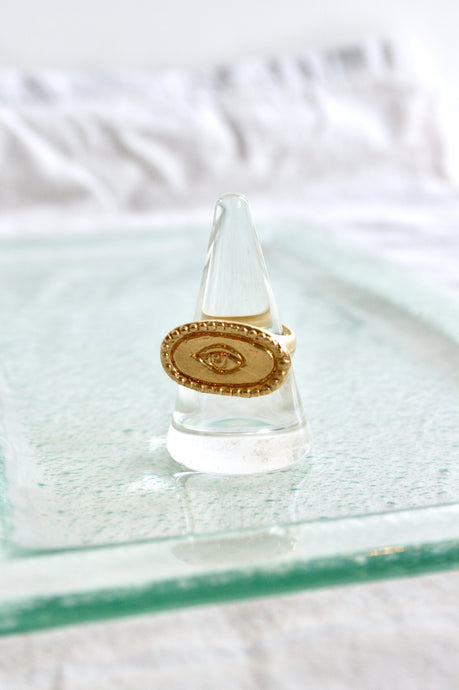 Mercurial nyc Perception Ring / Gold Plate
