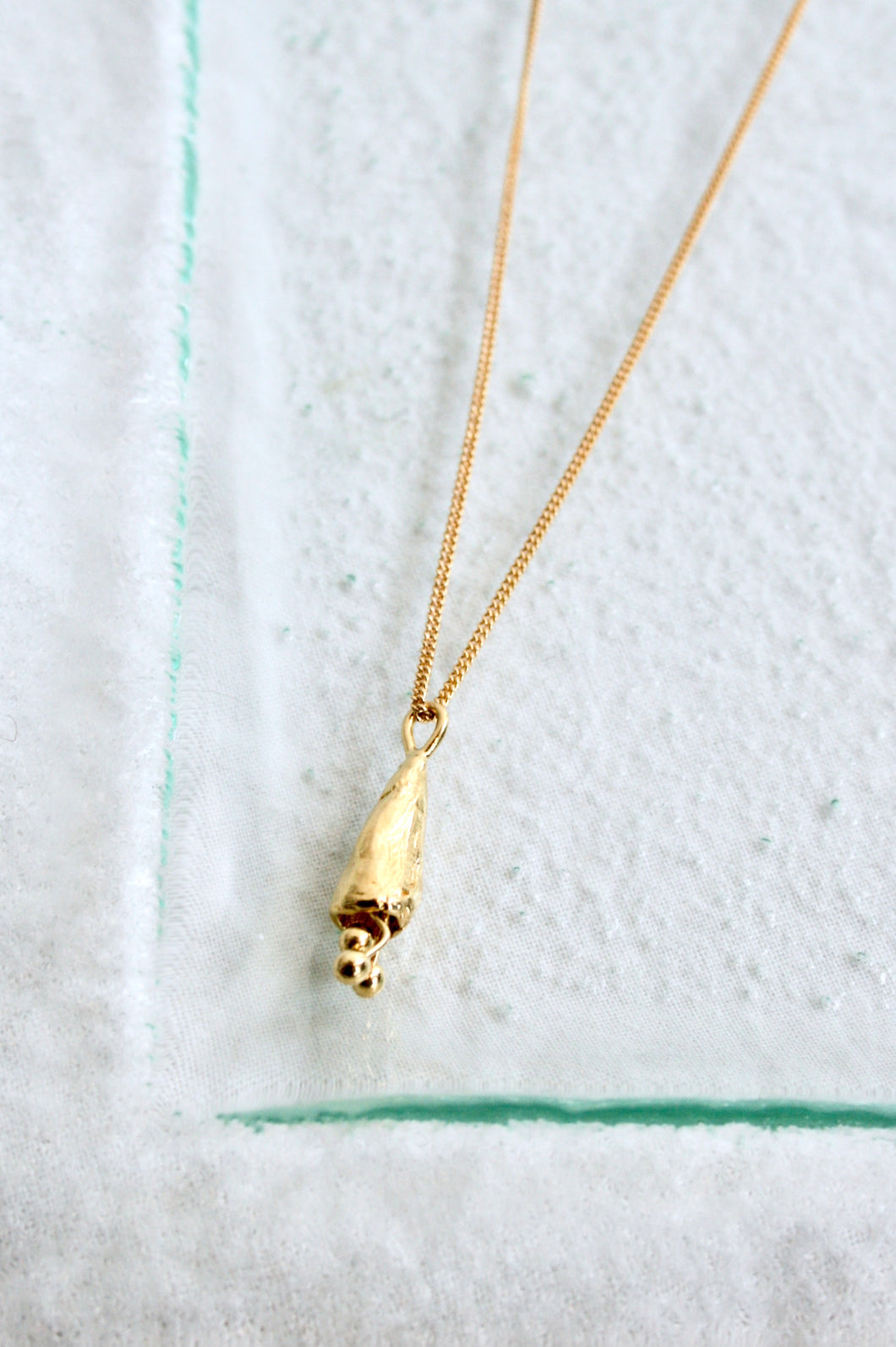 Mercurial NYC Fleur Necklace / Gold