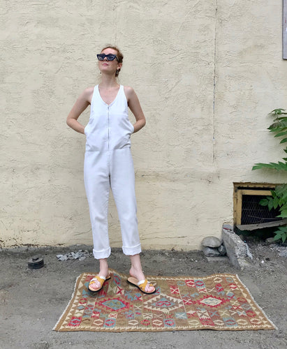 Rachel Comey Buxton Jumpsuit / Dirty White
