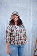Girls of Dust Army Smock / Madras Check - Multi