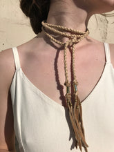 Big Soeur Brandy Choker Wrap / Tan