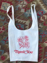 AW Gratitude Grocery Bag / Smiley Face & Roses